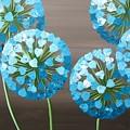 Valentine Alliums by Kaye Lake