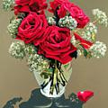 Valentine Roses by Ora Sorensen