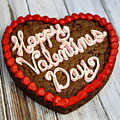 Valentines Cookie  by Michael Knight