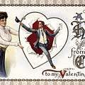 Valentines Day Card, 1909 by Granger