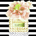 Valentino Perfume With Flower by Del Art