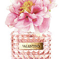 Valentino Pink With Peony by Del Art