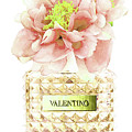 Valentino With Peony by Del Art