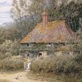 Valewood Farm Under Blackwood Surrey  by Helen Allingham