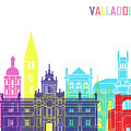 Valladolid Skyline Pop by Pablo Romero
