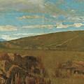 Vallata A Castiglioncello by Giuseppe Abbati