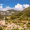 Valldemossa View From The Town by Naylors Photography