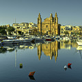 Valletta Reflected  by Rob Hawkins