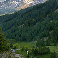 Valley In The French Alps by Jon Glaser