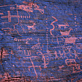Valley Of Fire State Park Petroglyphs by Kyle Hanson