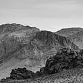 Valley Of Fire Viii Bw by David Gordon