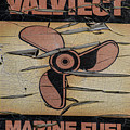 Valvtect Marine Fuel Sign by Bill Cannon