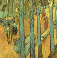 Van Gogh: Alyscamps, 1888 by Granger