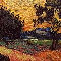 Van Gogh: Castle, 1890 by Granger