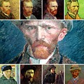 van gogh Collage by Celestial Images