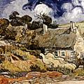 Van Gogh: Cordeville, 1890 by Granger