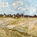 Van Gogh: Fields, 1888 by Granger