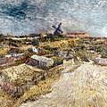 Van Gogh: Gardens, 1887 by Granger