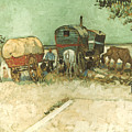 Van Gogh: Gypsies, 1888 by Granger