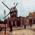 Van Gogh: La Moulin, 1886 by Granger