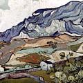 Van Gogh: Landscape, 1890 by Granger