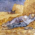 Van Gogh: Noon Nap, 1889-90 by Granger