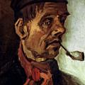 Van Gogh: Peasant, 1884 by Granger