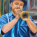 Van Gogh Plays The Trumpet by Michael Lee