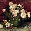 Van Gogh: Roses, 1886 by Granger