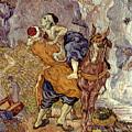 Van Gogh: Samaritan, 1890 by Granger