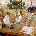 Van Gogh: Still Life, 1889 by Granger