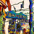 Van Gogh Takes A Wrong Turn And Discovers The Castro In San Francisco . 7d7547 by Wingsdomain Art and Photography