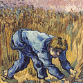 Van Gogh: The Reaper, 1889 by Granger