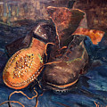 Van Gogh: The Shoes, 1887 by Granger
