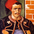 Van Gogh: The Zouave, 1888 by Granger