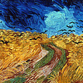 Van Gogh: Wheatfield, 1890 by Granger