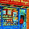 Van Horne Bagel by Carole Spandau