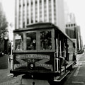 Van Ness And Market Cable Car- By Linda Woods by Linda Woods