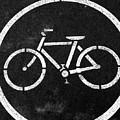 Vancouver Bike Lane- Art By Linda Woods by Linda Woods