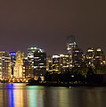 Vancouver By Night by Louise Magno