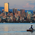 Vancouver Canoe by Pierre Leclerc Photography