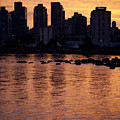 Vancouver From Stanley Park I by Chris Dutton