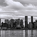 Vancouver In Black And White. by Viktor Birkus