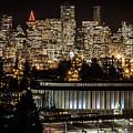 Vancouver Lights by Brigitte Mueller