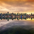 Vancouver Reflections by Eti Reid