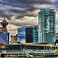 Vancouver Skyline Hdr by Randy Harris