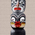 Vancouver Totem - 1 by Linda  Parker