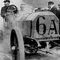 Vanderbilt Cup Race by Dorothy Binder