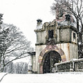Vanderbilt Mansion During The Snow by Alissa Beth Photography