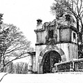 Vanderbilt Mansion In The Snow by Alissa Beth Photography